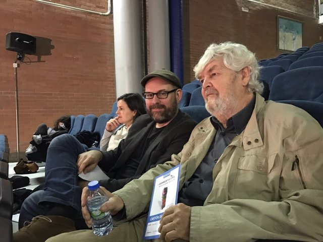 Beiras y Martiño Noriega en la III Asamblea Nacional de Anova
