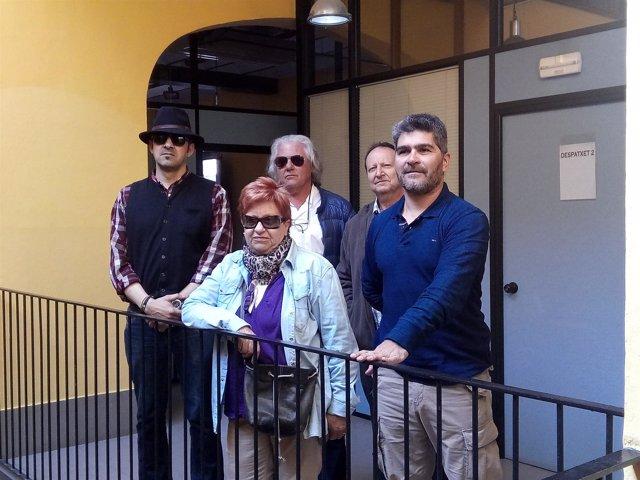 Integrantes de El Podem que Volem Manifiesto de Sineu