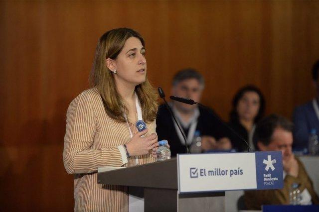 La coordinadora general del PDeCAT, Marta Pascal