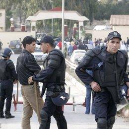Policía en Argelia