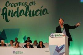 """Hernando subraya que Andalucía """"no puede resignarse"""" y ve al PP-A """"en condiciones de ganar"""""""