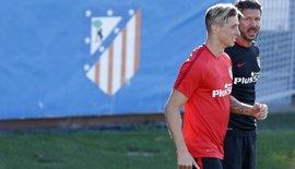 """Simeone, sobre Torres: """"No tengo absolutamente nada con nadie"""""""