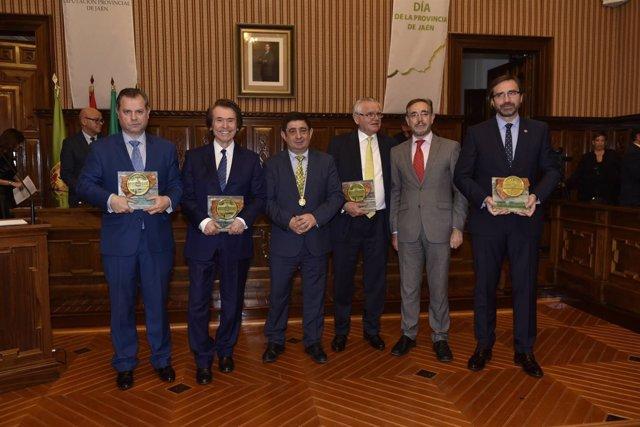 Entrega de los Premios de la Provincia de Jaén