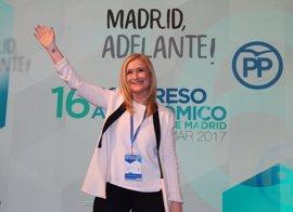 Cifuentes vuelve a rodearse de su núcleo duro en PP de Madrid y hace un guiño a la unidad integrando a dos 'aguirristas'
