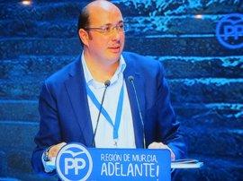 """Pedro Antonio Sánchez: """"Los malos no van a ganar, y eso se combate con trabajo"""""""