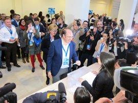 Congreso PP Murcia.- Pedro Antonio Sánchez, elegido presidente del PP por el 93,52% de los compromisarios