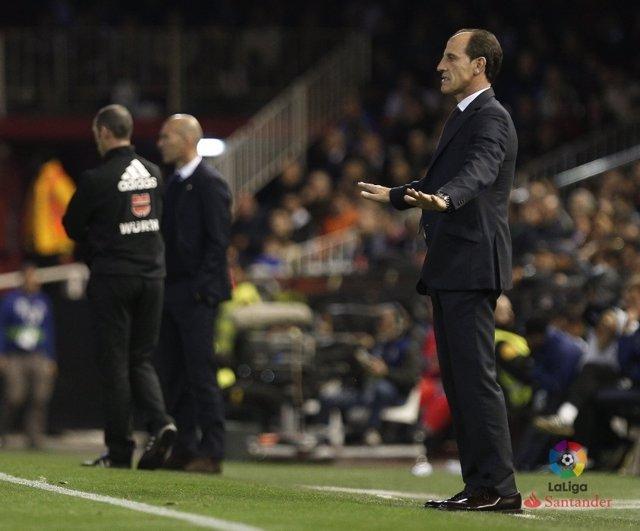 Voro, entrenador del Valencia