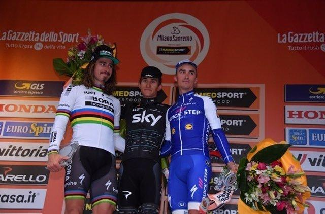Milán-San Remo Michal Kwiatkowski Peter Sagan