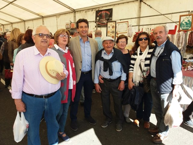 Gabriel Company en la Fira del Camp en Menorca