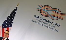 EEUU veta en el G-20 el apoyo al libre comercio