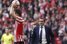 """Valverde: """"Lo cierto es que nos han ganado en dos chispazos que han tenido"""""""