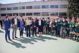 García Tejerina inaugura las instalaciones deportivas de La Enseñanza de Valladolid