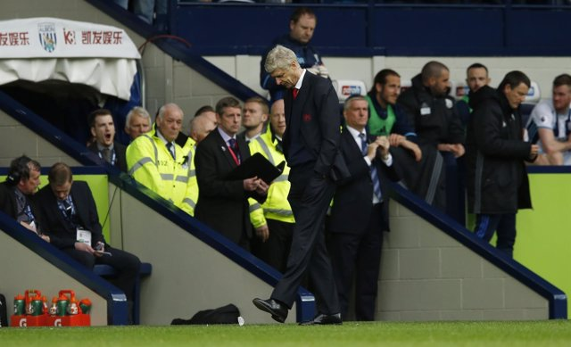 El técnico del Arsenal, Arsene Wenger