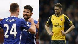 El Arsenal se complica la 'Champions' y el Chelsea sigue líder intratable