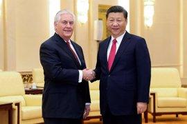 Tillerson traslada a Pekín el deseo de Trump de mejorar la relación con China