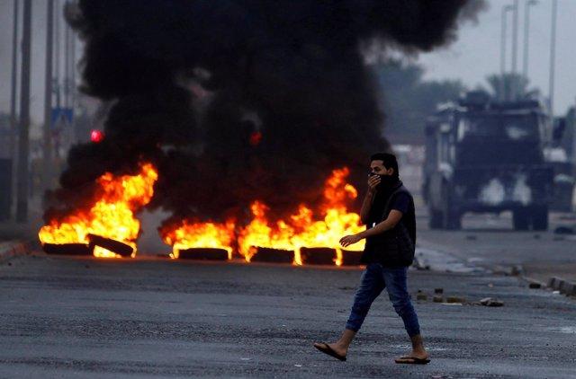Enfrentamientos en el sexto aniversario de las protestas de 2011 en Bahréin