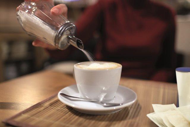Cafe, azúcar, edulcorantes