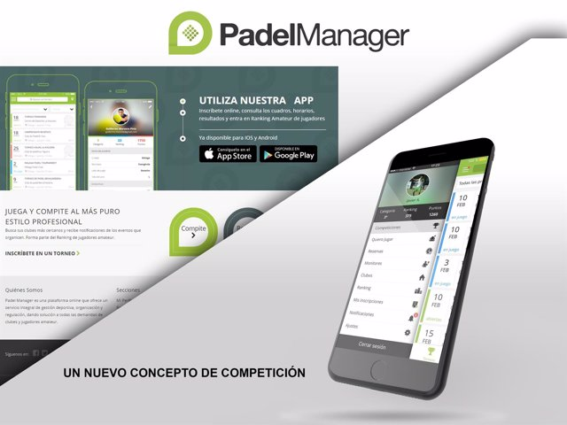 PadelManager app