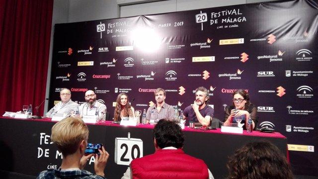 El otro hermano presentación festival de cine de Málaga