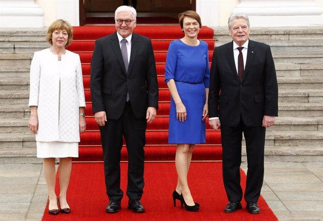 Joachim Gauck traspaso de poderes Frank Walter Steinmeier