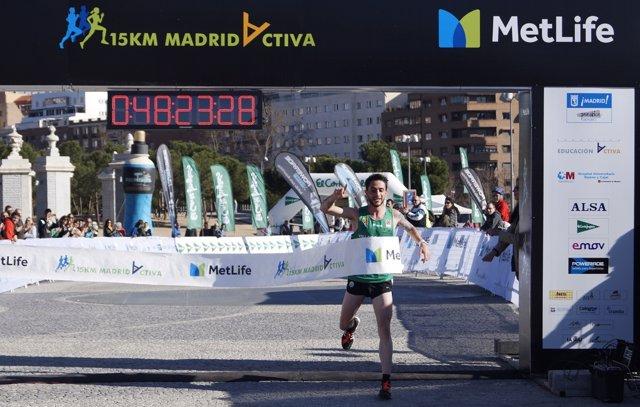 Aitor Ramírez III 15 Km MetLife Madrid Activa
