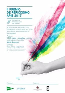 Cartel II Premio Periodismo APIB