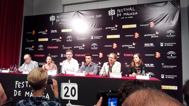 Presentación Amar Festival Cine Málaga