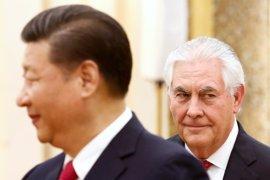 El presidente chino expresa a Tillerson su deseo de iniciar una nueva era con EEUU