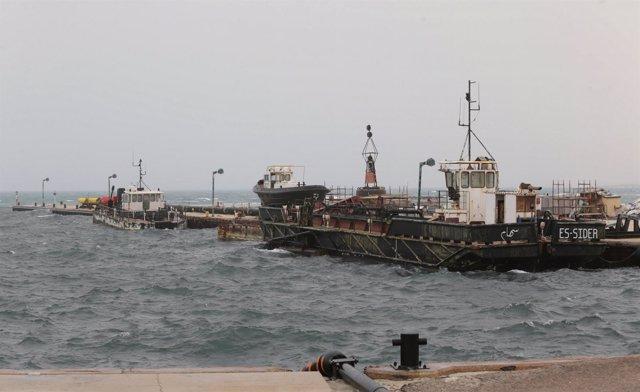 Puerto de Es Sider, Libia