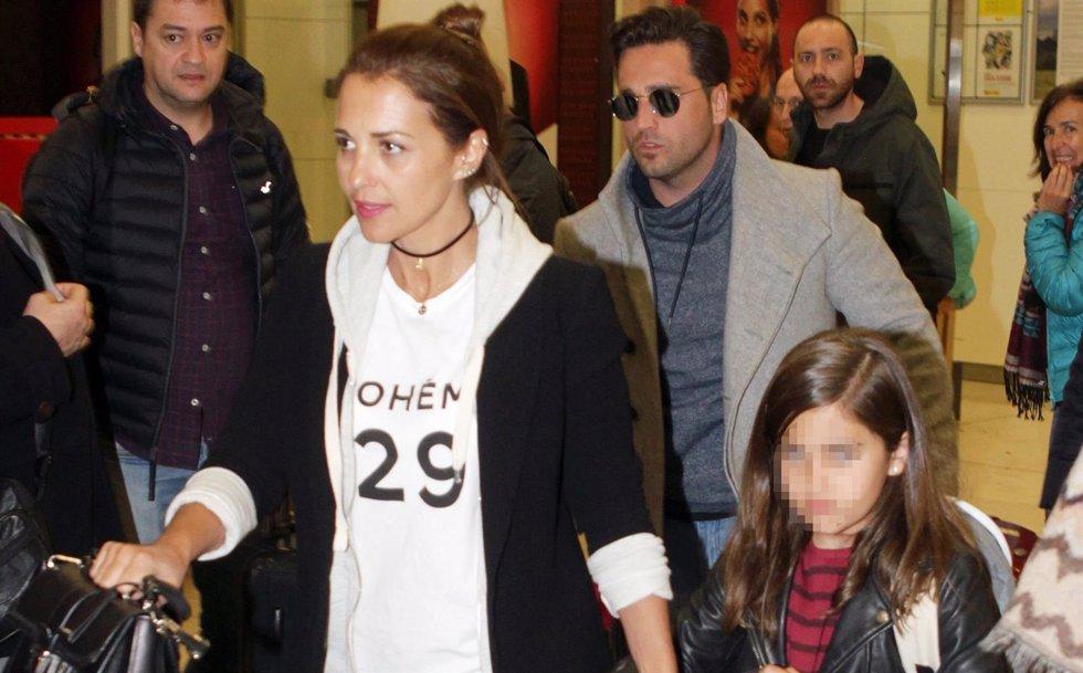 Paula echevarría, david y su hija daniella