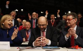 El SPD elige a Schulz con respaldo unánime para desafiar a Merkel en las elecciones