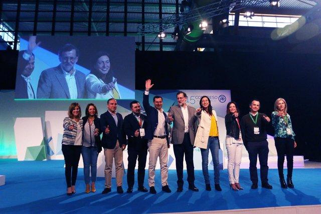 Rajoy. Clausura congreso PP-A.