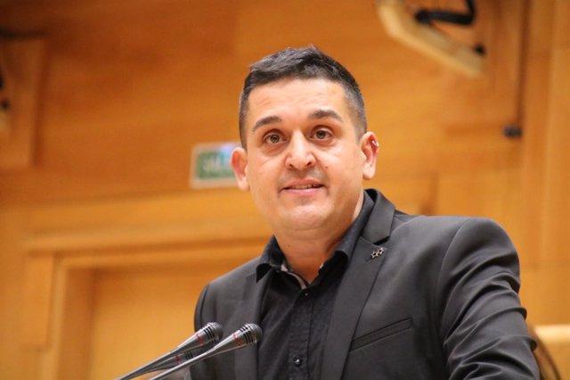 El senador territorial de Compromís, Carles Mulet