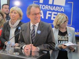 Mas, Ortega y Rigau irán el martes a la reunión de Govern para ver cómo difundirán el proceso