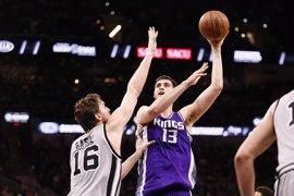 Pau Gasol guía a los Spurs y el 'doble-doble' de Ricky Rubio no evita la derrota de los Wolves