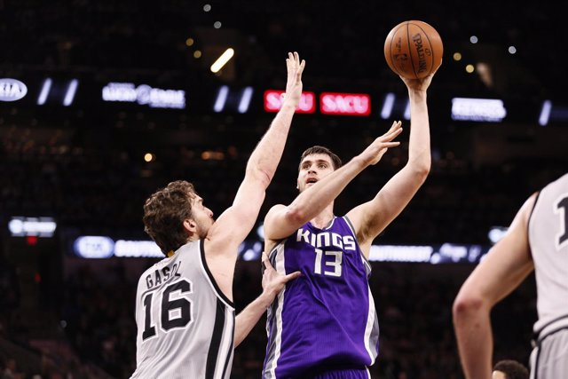 Pau Gasol San Antonio Spurs Sacramento Kings Georgios Papagiannis