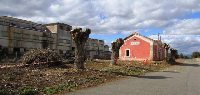 León: Estación De Valderrey, Obras De Recuperación