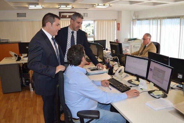 Mariano Albaladejo (izq), director general de Gesa Mediación