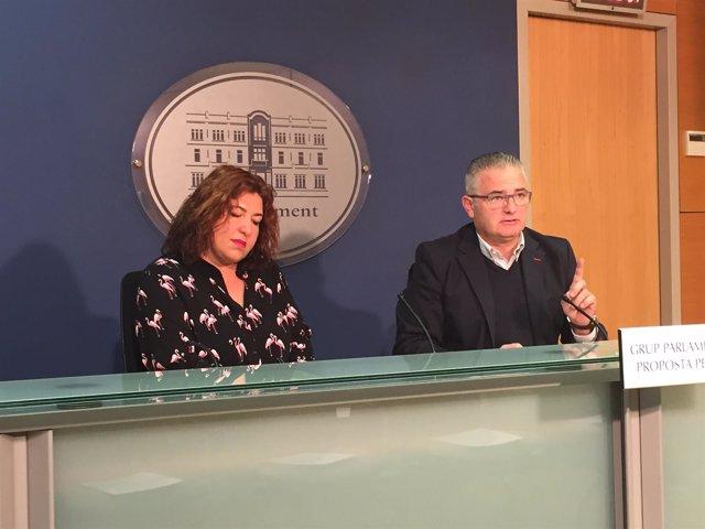 Maria Antònia Sureda y Jaume Font