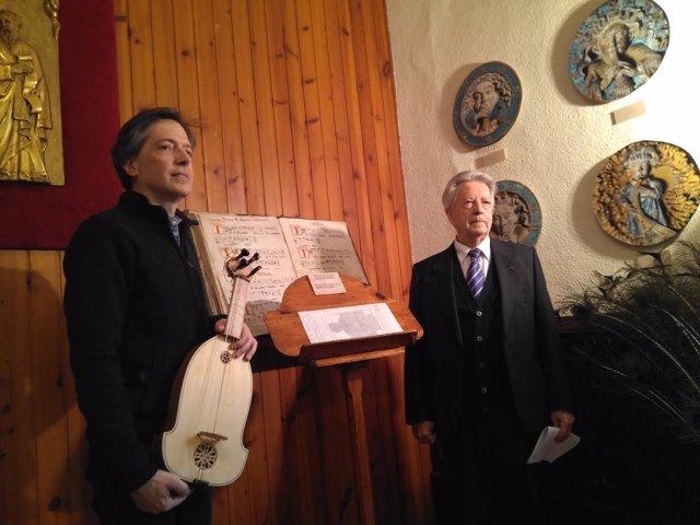 Sergio Barcellona y Aurelio Sagaseta