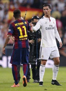 Real Madrid Cristiano Ronaldo Barcelona Neymar