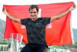 """Federer: """"Me estoy divirtiendo mucho"""""""