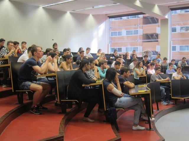 Selectividad 2016 en el Campus UPF Ciutadella