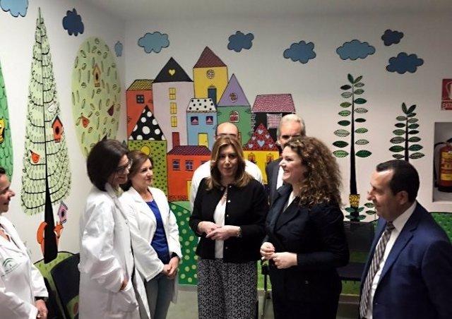 Susana Díaz inaugura un hospital en Ronda