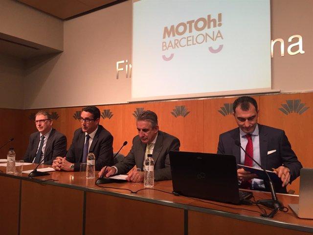 Presentación del segundo Motoh! Barcelona