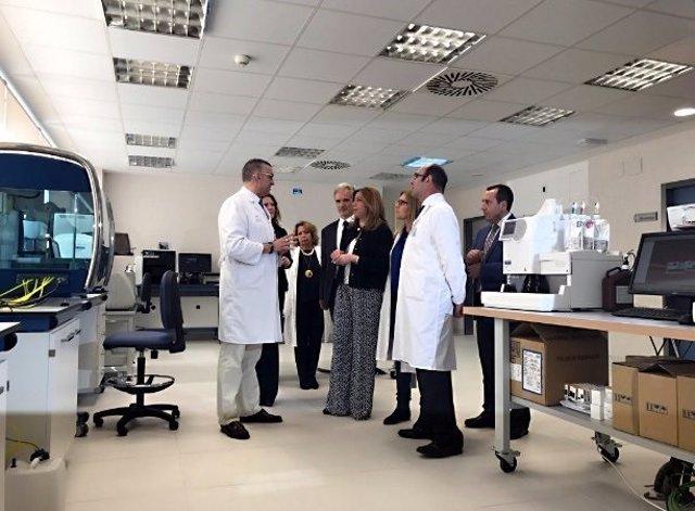 Susana Díaz en la inauguración del hospital de Ronda