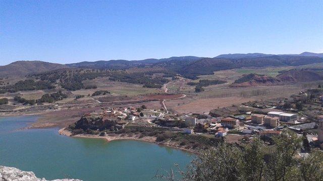 Uno de los pantanos de la Cuenca del Ebro