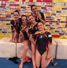 Equipo español gimnasia artística