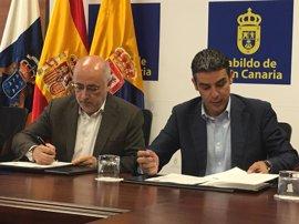 Gobierno regional y Cabildo grancanario impulsan el sector ganadero con la puesta en marcha de un Plan Forrajero