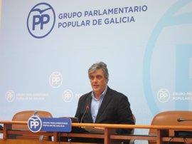 """Pedro Puy defiende que Beatriz Mato es """"capaz"""" de simultanear su labor como conselleira y la dirección del PP coruñés"""